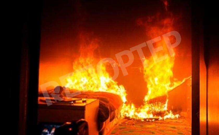 В Днепре во время пожара в квартире погиб мужчина
